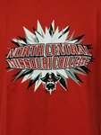 YOUTH TSHIRT NORTH CENTRAL PIRATE RED