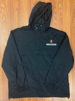 JACKET CH HALF ZIP WINDBREAKER WATER RESISTANT HOODED