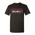 TSHIRT AGRICULTURE RED MIDDLE STRIP