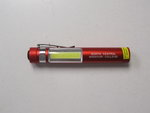 FLASHLIGHT MAGNETIC POCKET RED NORTH CENTRAL