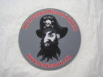MOUSE PAD ROUND PIRATE
