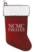 CHRISTMAS ORNAMENT STOCKING NCMC PIRATES