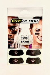 EYE BLACK 2 PAIRS PLAY TOUGH PLAY SMART