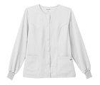 Scrubs WS Fundamentals Warm Up Jacket - White