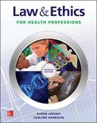 LAW & ETHICS FOR HEALTH ETC (W/OUT CONNECT PLUS) (P)