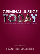 CRIMINAL JUSTICE TODAY (W/OUT ACCESS CODE) (P)