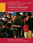 BEDFORD ANTHOLOGY OF WORLD LIT: COMPACT (V2) (P)