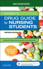 MOSBY'S DRUG GUIDE FOR NURSING STUDENTS WITH 2020 UPDAT (P)