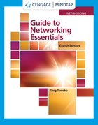 MindTap for Tomsho's Guide to Networking Essentials