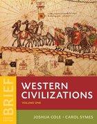 WESTERN CIVILIZATIONS: BRIEF (W/REGISTRATION CARD) (V1)*