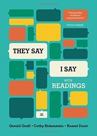 THEY SAY /I SAY: MOVES THAT MATTER WITH READINGS (P)