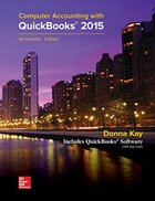 COMPUTER ACCOUNTING WITH QUICKBOOKS 2015 (W/2 CD'S)