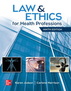 LAW & ETHICS FOR HEALTH PROFESSIONS (LOOSE-LEAF)(W/OUT ACCESS CARD)