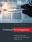 CRIMINAL INVESTIGATION (W/OUT ACCESS)