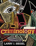 CRIMINOLOGY: THEORIES