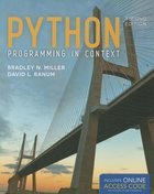 PYTHON PROGRAMMING IN CONTEXT (W/ACCESS CODE) (P)