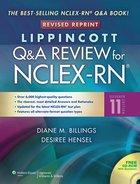 LIPPINCOTT Q&A REVIEW FOR NCLEX-RN (W/CD) (P)