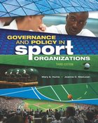 GOVERNANCE & POLICY IN SPORT ORGANIZATIONS (P)