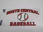 DECAL OUTSIDE WINDOW BASEBALL