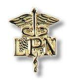 NURSING PIN CADUCEUS LPN 2 PK