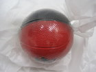 BALL BASKETBALL BLK RED FOAM 4IN PIRATE