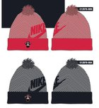 HAT NIKE BEANIE STRIPED POM PIRATE
