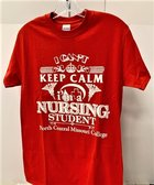 TSHIRT NURSING I CANT KEEP CALM