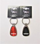 KEY RING TEARDROP ENGRAVED NORTH CENTRAL