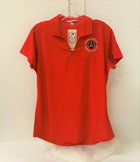 POLO LADIES DRY ZONE PORT AUTHORITY RED