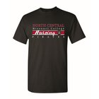 TSHIRT NURSING RED MIDDLE STRIP
