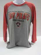 TSHIRT 3/4 RAGLAN SOFTBALL