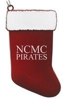 CHRISTMAS ORNAMENT STOCKING NCMC PIRATES