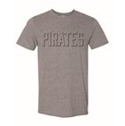 TSHIRT SHADOW PRINT PIRATE GRAY