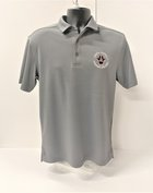POLO UA MENS TECH GRAY
