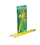 PENCIL WOODEN NUMBER 2 12PK